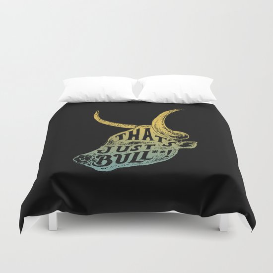 Just Bull Duvet Cover