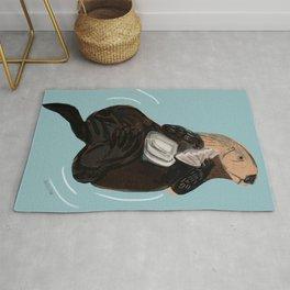 California Sea otter Rug