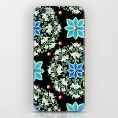 Folkloric Lily Medallion iPhone & iPod Skin