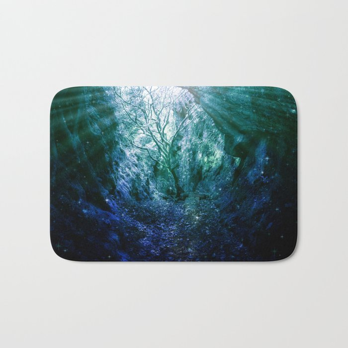 Mystic Tree of Life & Death Bath Mat