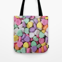 Sugar Hearts Tote Bag