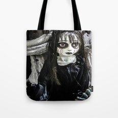 Goth Girl Tote Bag