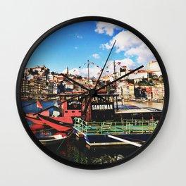 Douro River Wall Clock