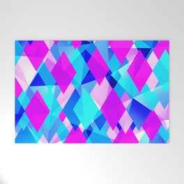 Life in Color Modern Abstract Welcome Mat