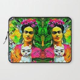 Frida's Cat Laptop Sleeve