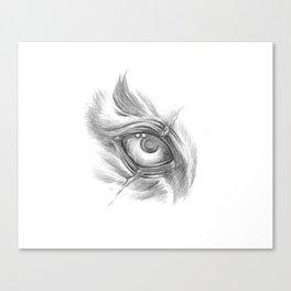 Tiger Eye Scar Canvas Print
