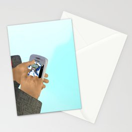 Fly: Just Push Play Stationery Cards