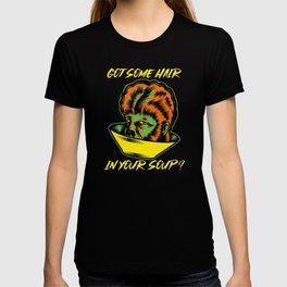 Werewolf Hair in Soup Halloween T-shirt