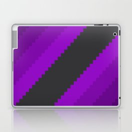 Pixel Grape Juice Dreams - Purple Laptop & iPad Skin