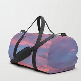 Cotton Candy Clouds Duffle Bag