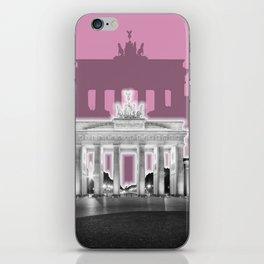 BERLIN Brandenburg Gate | Graphic Art | ink iPhone Skin