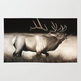 Bull Elk Rug