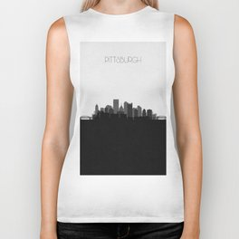 City Skylines: Pittsburgh (Alternative) Biker Tank