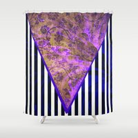baroque Shower Curtains featuring Baroque Remix by sparkplug95