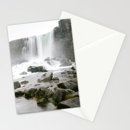Waterfall in Iceland -  Iceland Collection | The Netherlands - Travel photography | Art Print  Stationery Cards