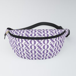 Purple XOXO Fanny Pack