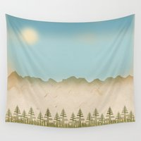relax Wall Tapestries featuring Relax by Tammy Kushnir