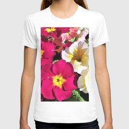 Polyanthus Flowers T-shirt