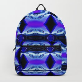 My Blue Bubble in London Backpack
