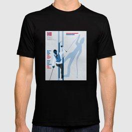 Birkebeinerrennet Birkebeiner Nordic Skiing by Dennis Weber ShreddyStudio T-shirt