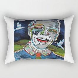 Nelson Mandela ''Madiba'' Rectangular Pillow
