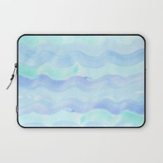 water color waves Laptop Sleeve
