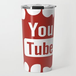 youtube youtuber - best designf or YouTube lover Travel Mug