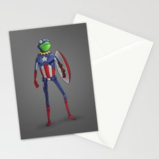 Captain Kermit Stationery Cards