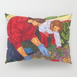 Tending the Garden Pillow Sham