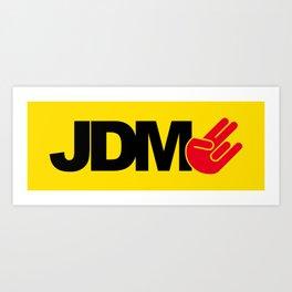 JDM shocker v3 HQvector Art Print