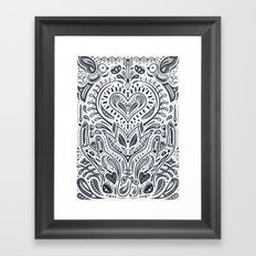 Folklore Pattern 3 Framed Art Print