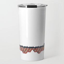 Typographie Travel Mug