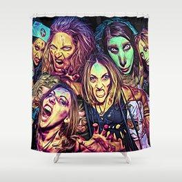 Spooky Halloween I Shower Curtain
