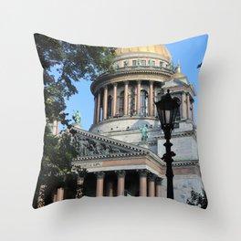 Saint Isaac's Cathedral Throw Pillow