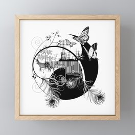 counterbalance Framed Mini Art Print