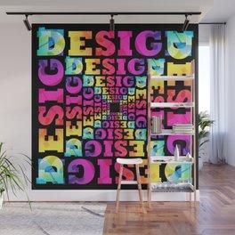 Bright Design Wall Mural