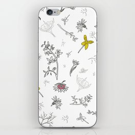 Flower passion iPhone Skin