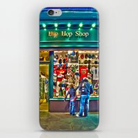 hip hop iPhone & iPod Skins featuring Hip Hop Dance Shop by Valerie Paterson