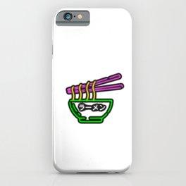 LLamen - Ramen - らーめん - ラーメン iPhone Case