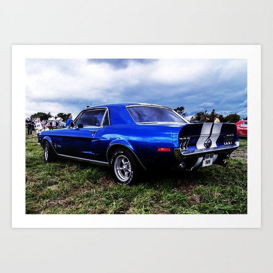 '68 Mustang Art Print