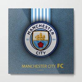 Manchester City England Football Club Metal Print