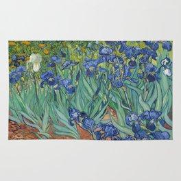 Vincent van Gogh - Irises Rug