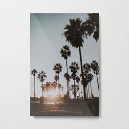 palm trees vi / venice beach, california Metal Print