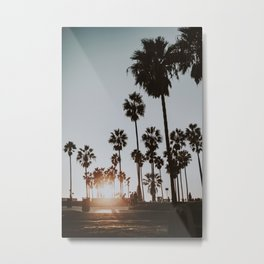 palm trees vi / venice beach, california Metal Print