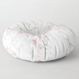 pink cherry blossom Floor Pillow