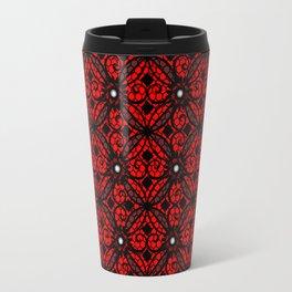Red Gothic Travel Mug