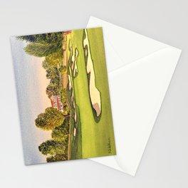 Pasatiempo Golf Course Hole 3 Santa Cruz Stationery Cards