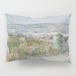 Montmartre: Behind the Moulin de la Galette Pillow Sham