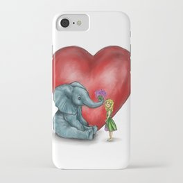 Pachyderm's  bouquet iPhone Case