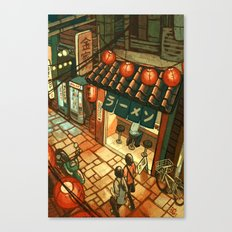 Ramen in the Alley Canvas Print